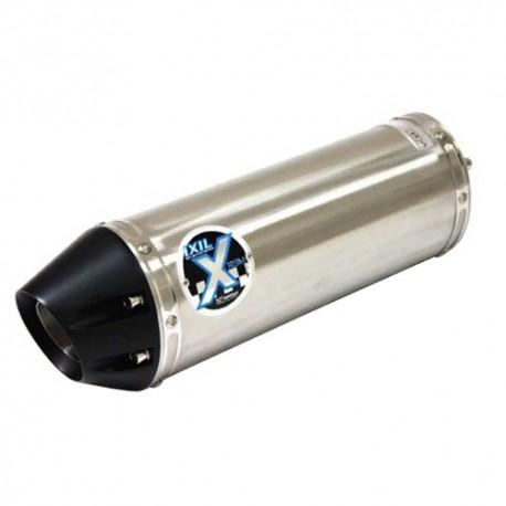 OH6077VSE : Silencieux hexoval Inox CB1000R