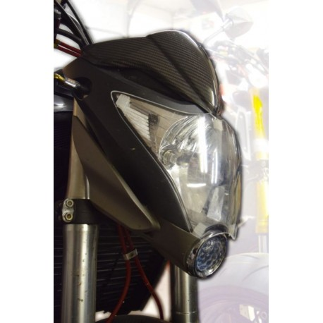091001 : Pyramid Plastics headlight cover CB1000R