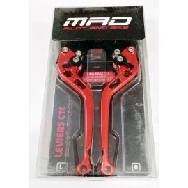 0165U1616 : MAD Adjustable anodized levers CB1000R