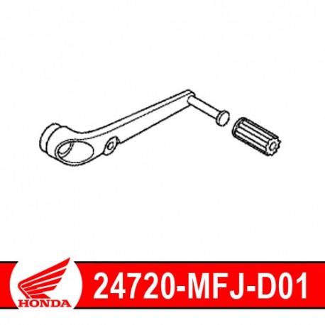 24705-MR7-000 + 24720-MFJ-D01 : Sélecteur de vitesse origine Honda CB1000R