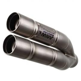 H.041.LDG : Mivv Double Gun stainless CB1000R