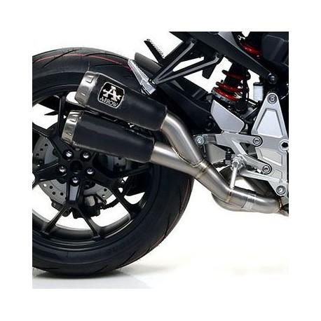 71885PRN : Arrow Double Pro-Race Dark slip-on 2018 CB1000R