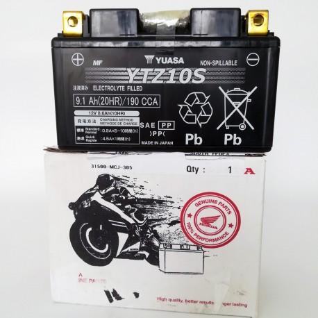 31500-MCJ-305 : Batterie Yuasa YTZ10S CB1000R