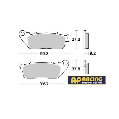 LMP462SR : AP racing rear brake pads CB1000R